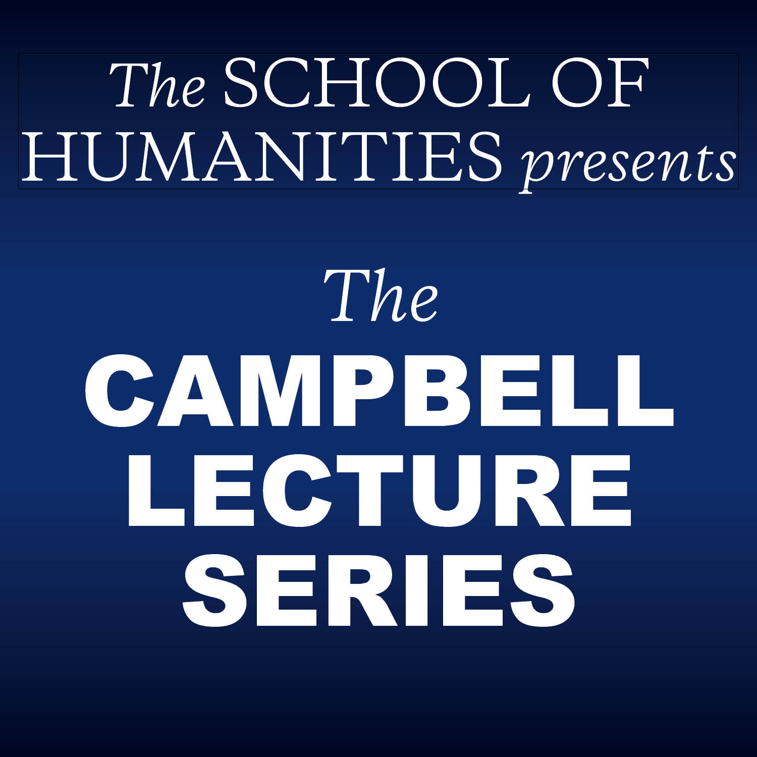 Image of Campbell Lecture Series visual element